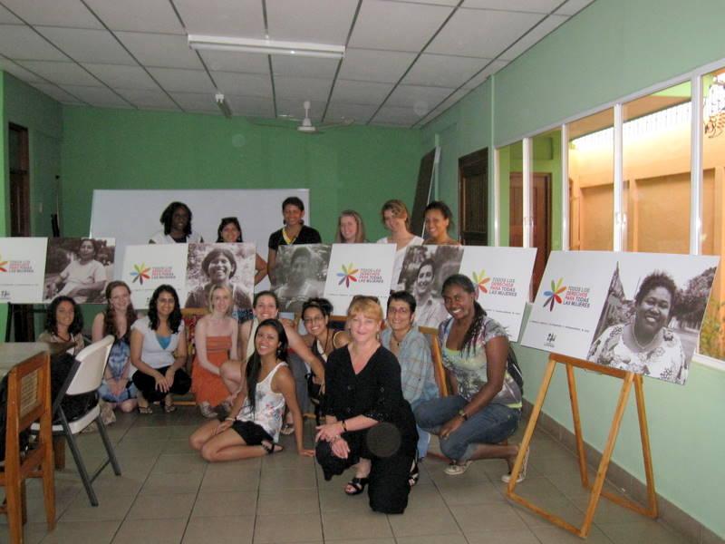 Nica 2 with Maria Teresa Blandon, Founder of La Corriente