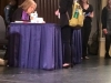 Getting a book signed by Gloria Steinem!