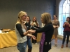 Gloria Steinem: Hugs all around!